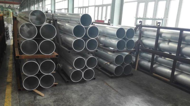 6063-T5, 6061-T6 Aluminum Alloy Round Tube