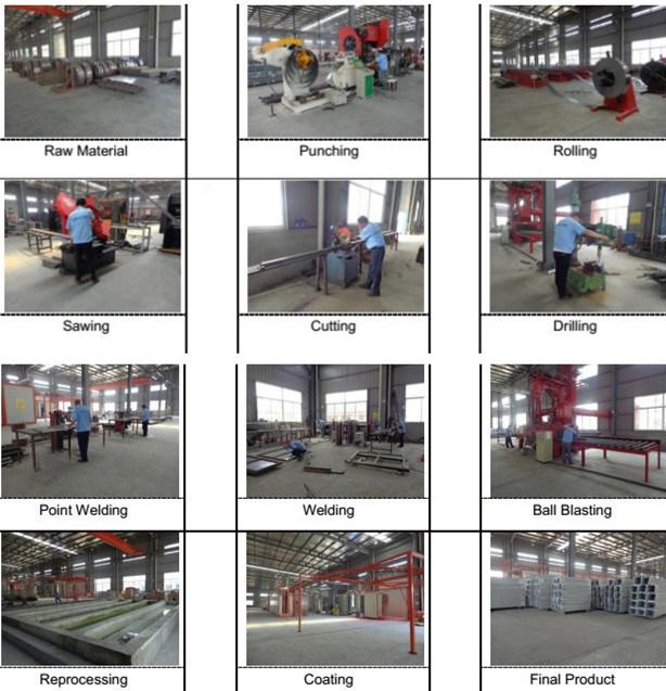 High Quality Adjustable Boltless Rivet Shelf for Warehouse