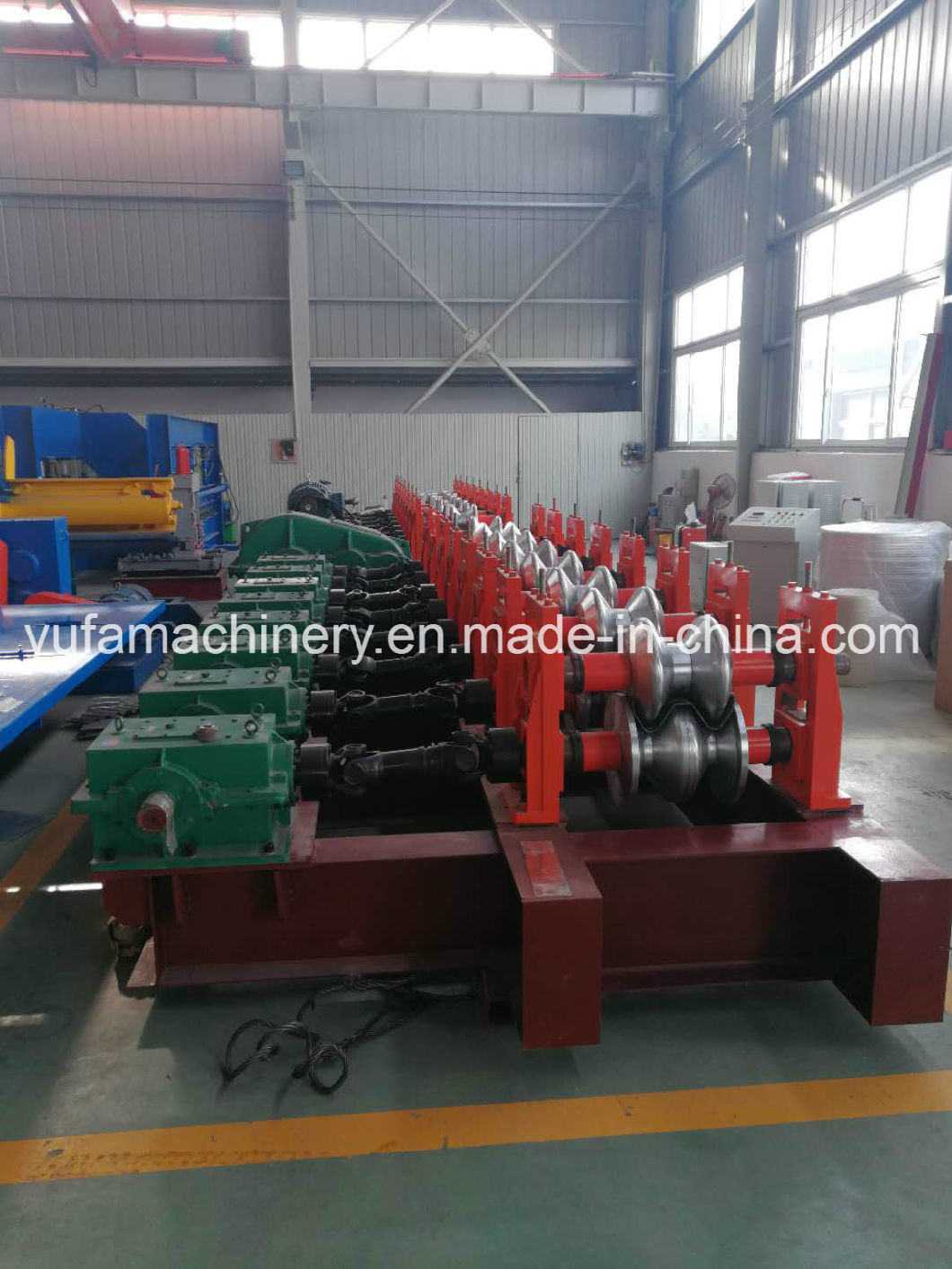 PPGI Steel Highway Guardrail Cold Roll Forming Machine