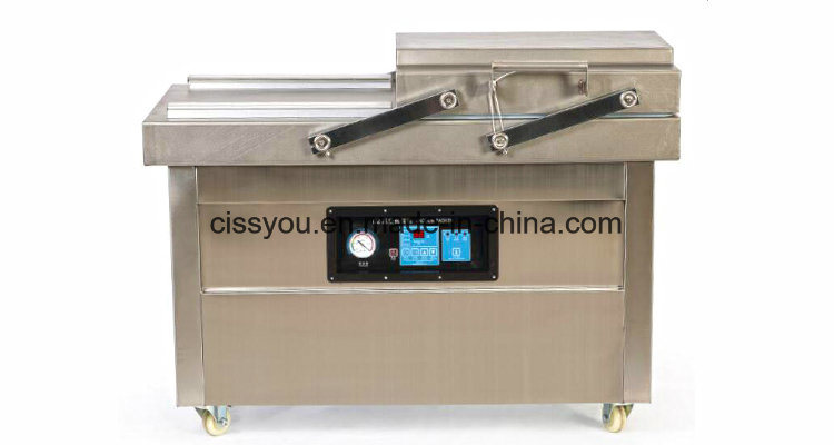 China Automatic Vacuum Gas Food Charging Packing Wrapping Machine