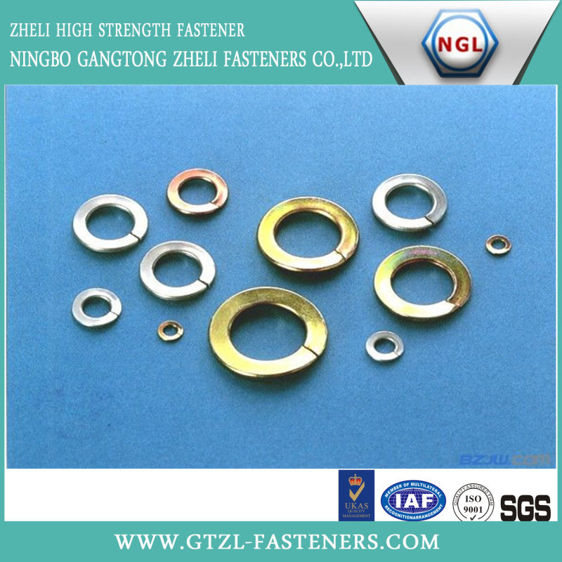 DIN127-1987 Spring Lock Washers with Square Ends