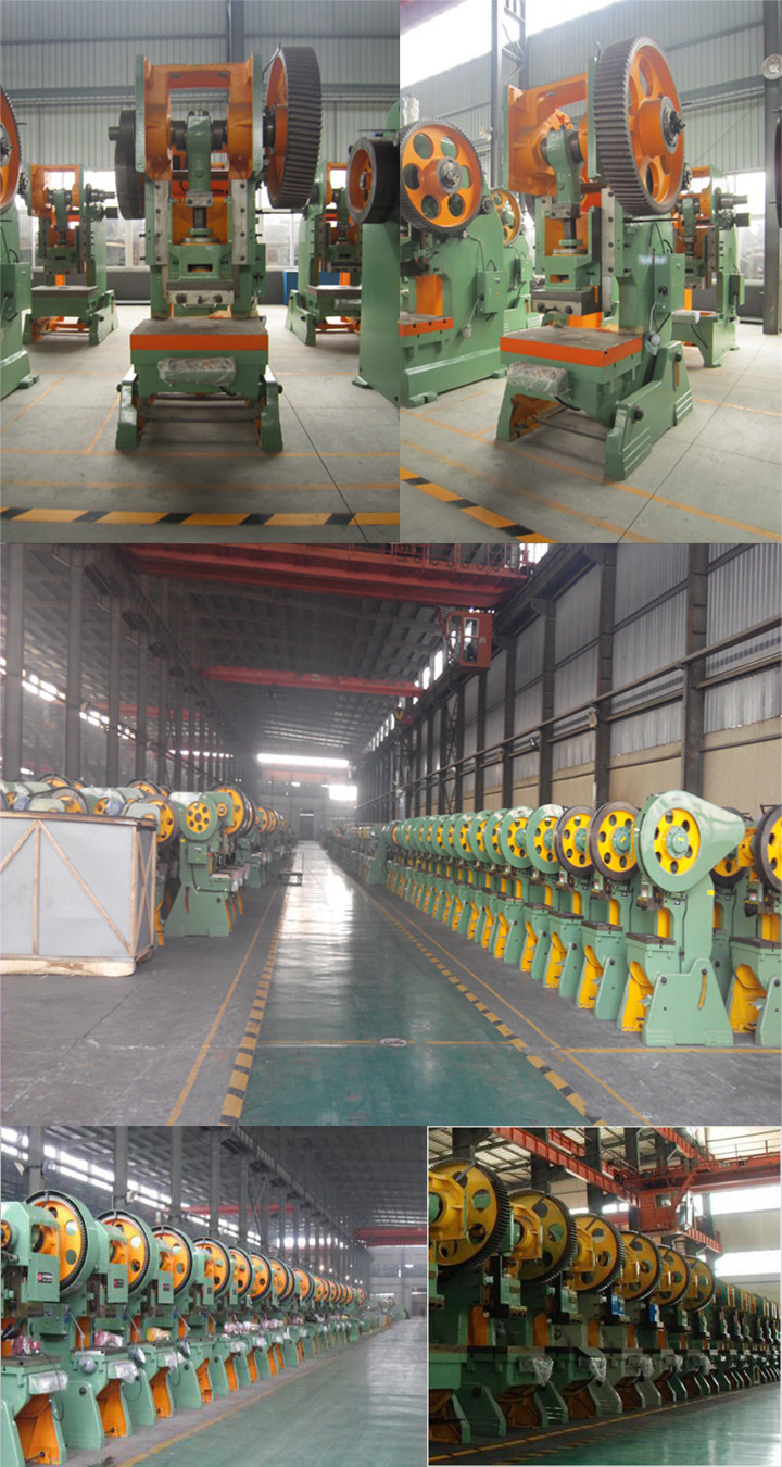 Metal Stamping Parts J23 63 Tons Mechanical Power Press Punching Machine for Aluminum