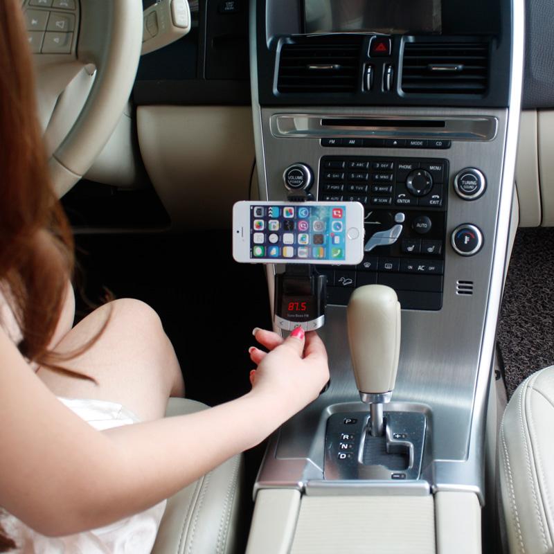 Bluetooth FM Hands-Free Car Mount