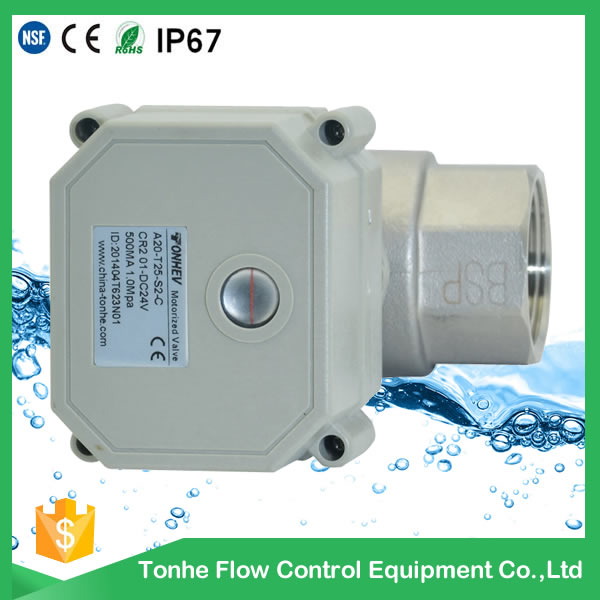 Ss304 Material and Ball Structure Electric Actuated Motorized Ball Valve