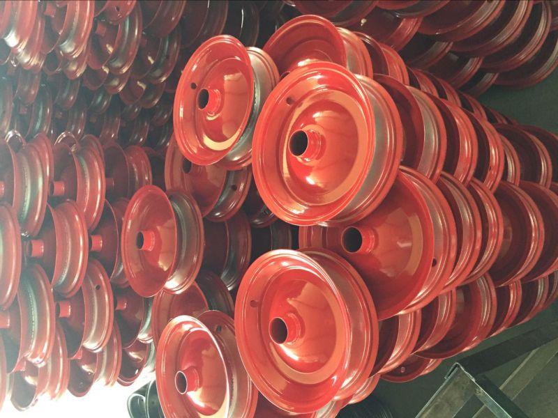 China Manufacture Quality 4pr 2pr Rubber Wheels 4.00-8 3.50-7
