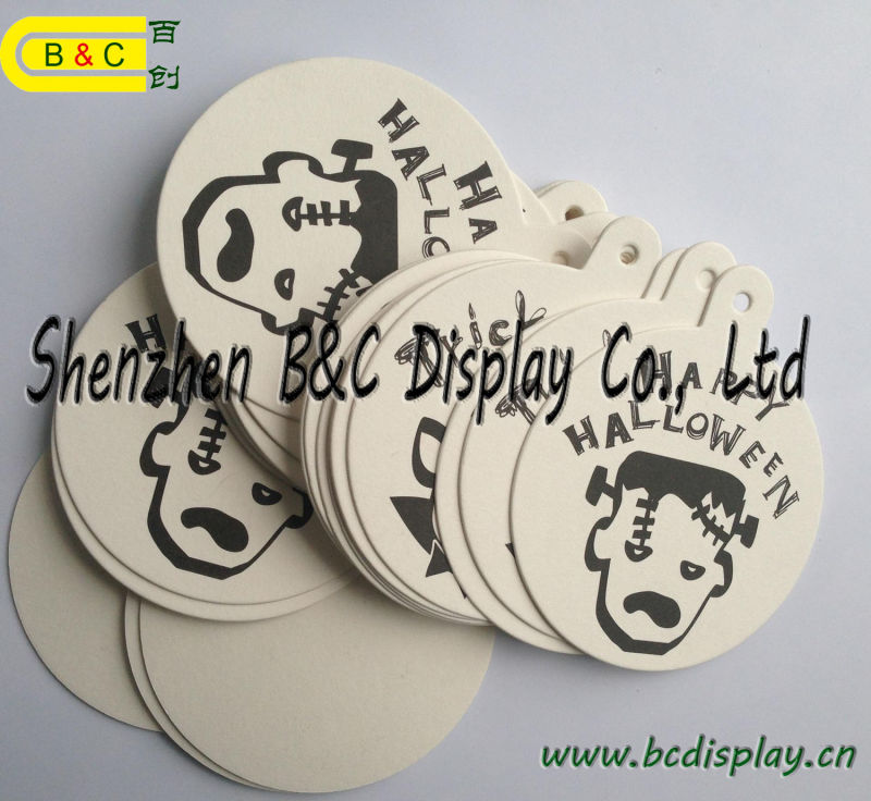 OEM Wholsale Absorbent Paper Coaster, Cup Mat for Catuaba Drink China Supplier (B&C-G116)