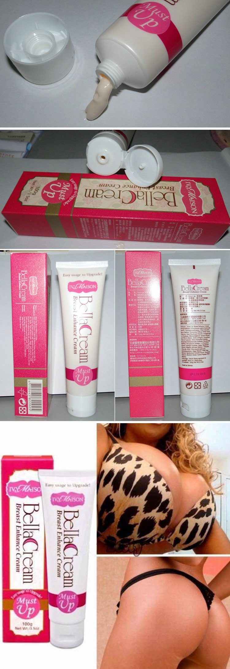 Wholesale Quality Guaranteed Must up Beauty Bust Cream (100ml)