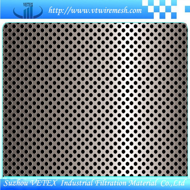 Perforated Wire Mesh with SGS Report