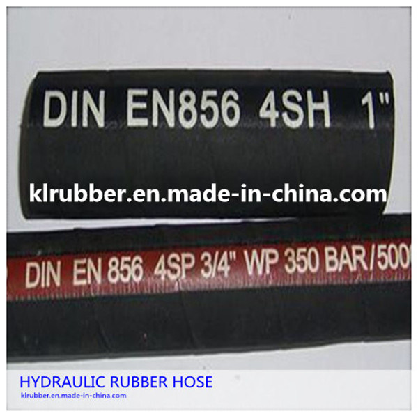 SAE100 R2at High Pressure Rubber Hydraulic Hose with Hydraulic Fitting