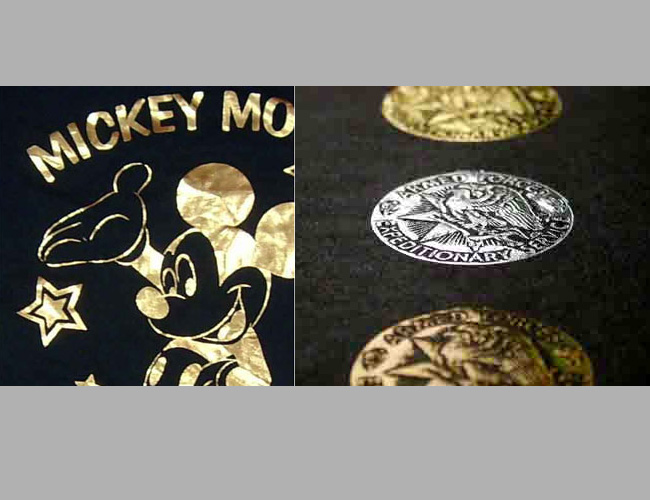 Three-Dimensional Hot Stamping/Foil Paste for Cotton Fabric