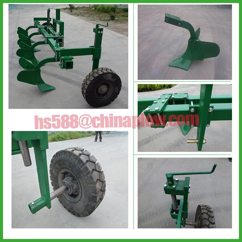 Africa Market Tractor Mounted Ridger Plow No Wheels