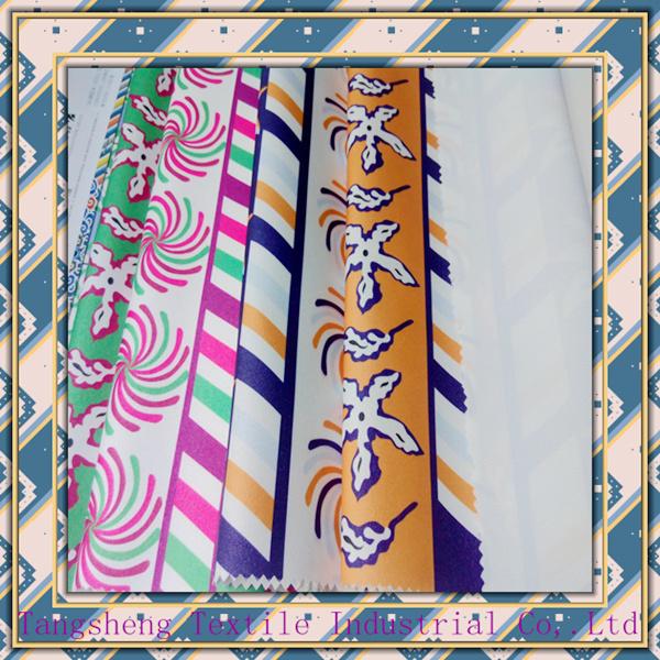 Printed Jacquard Garment& Home Textile Fashion Fabric