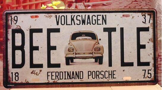 Custom Warniing Signs No Parking Metal Plaque Sign Traffic Aluminum License Plate