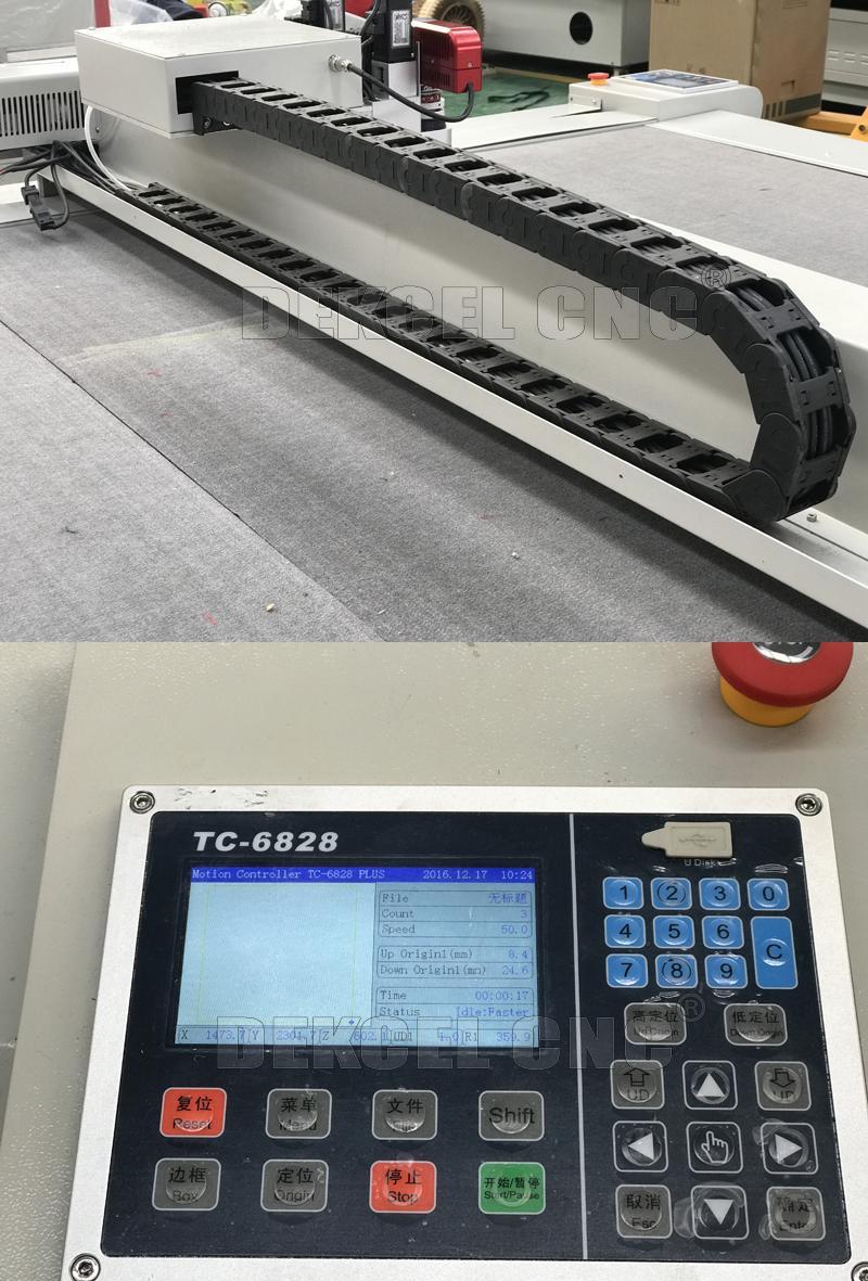 Oscillating Knife Cutting Machine Cutter for Foam, EVA, Carboard, Plotter
