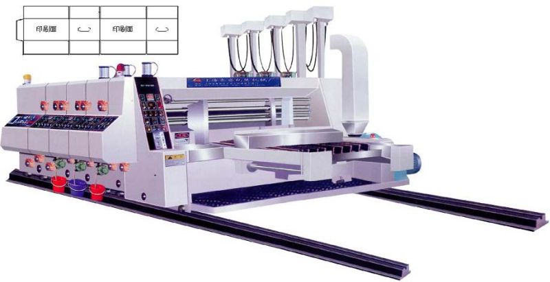 Gyk-C High Speed Automatic 3 Color Printing Slotting Machine