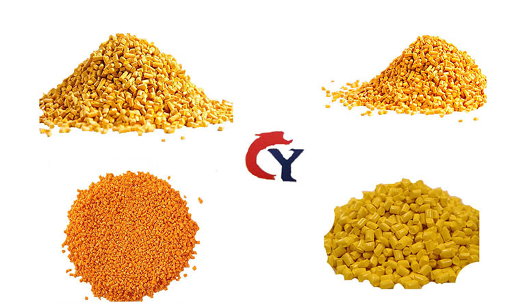 Yellow CaCO3 Filler Masterbatch for HDPE PP Injection