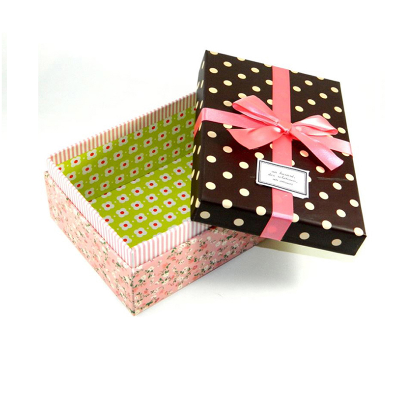 Fancy Paper Cardboard Packaging Box for Gift, Wedding