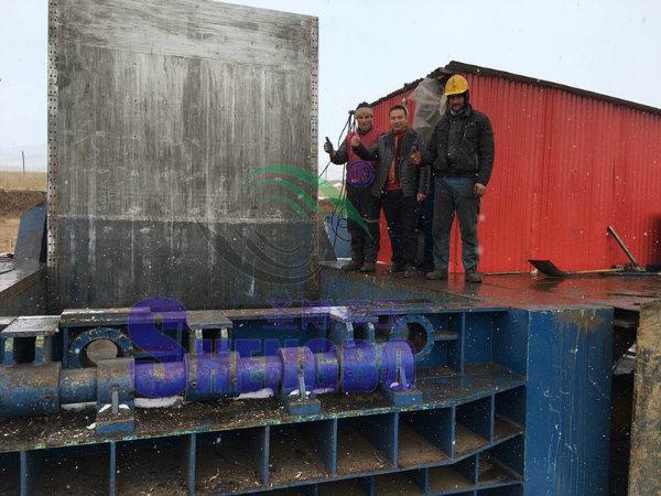 Scrap Copper Tube Compactor (manual/automatic)