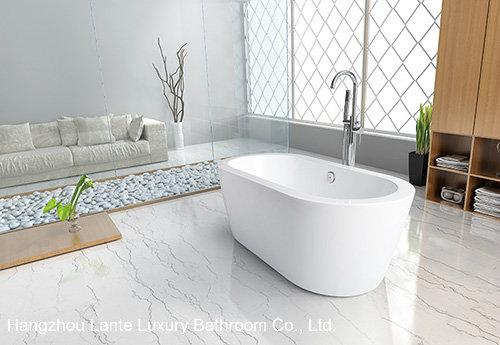 Cheap Simple Acrylic Freestanding Bathtub (LT-2D)