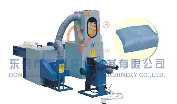 Foam Cutting and Fiber Opening & Stuffing Combination Machine