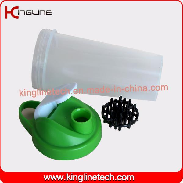 Eco friendly 700ml plastic custom protein bottle plastic ball wholesalers (kl-7033B)