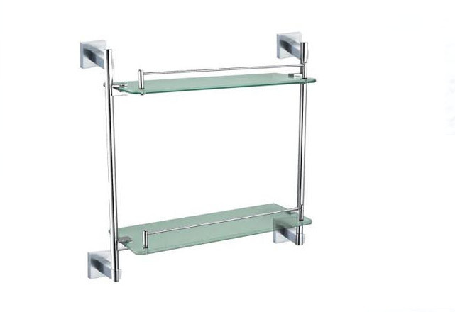 Square Base Stainless Steel 304 Simple Towel Rail (06-5009)