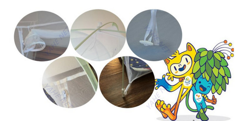 Brazil's Rio Olympics Chinese Mosquito Net Artifact Keep out Mosqutioes