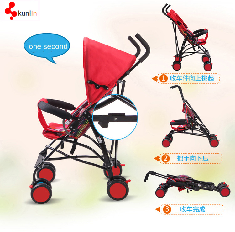 Super Lightweight Summer Infant Convenience Buggy Baby Stroller