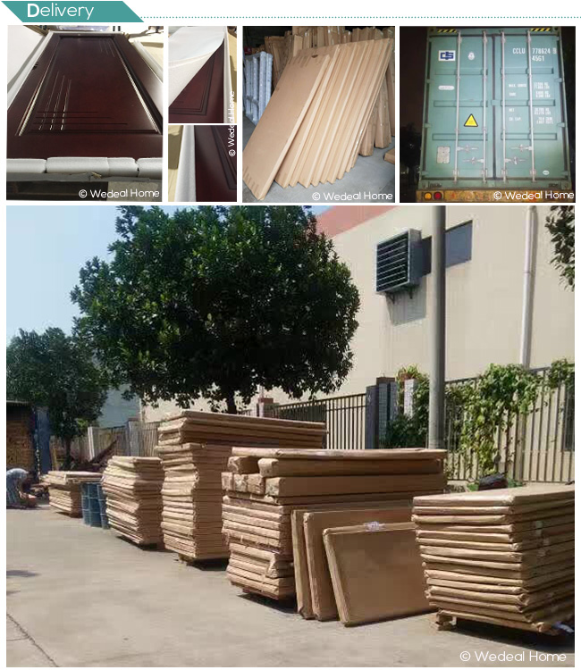 Interior/Exterior Solid Wooden Door with Solid Core for Houses