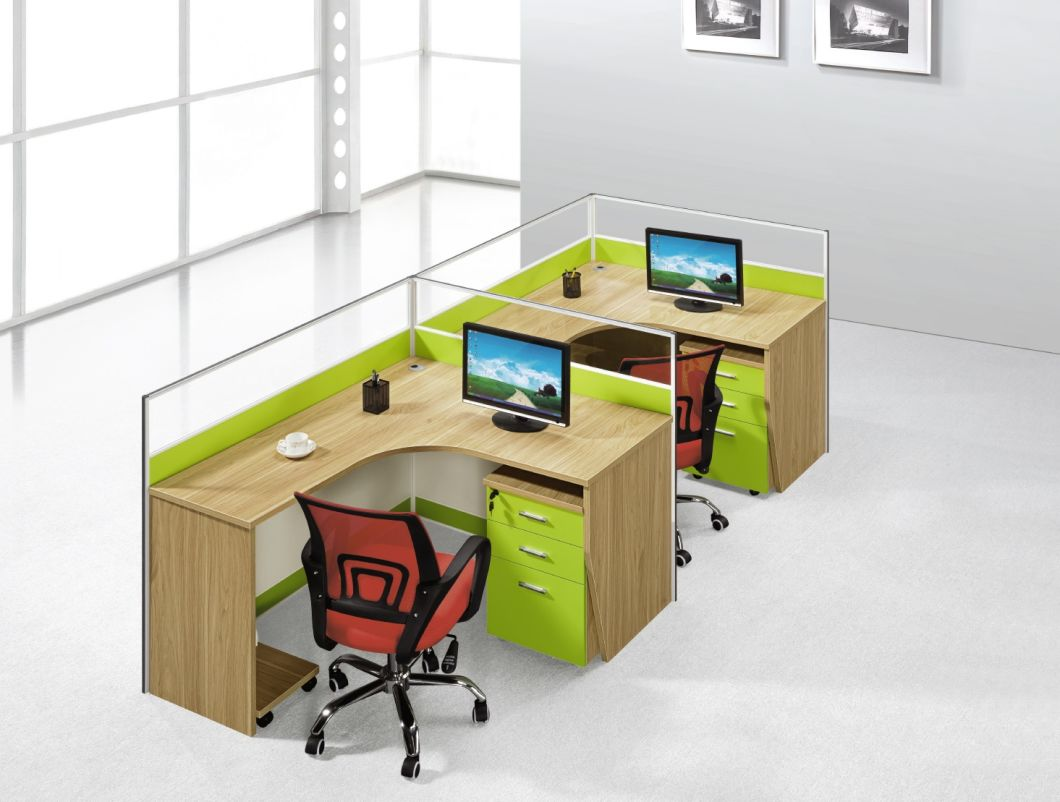 Workstation Office Partition Office Table Computer Table Employee Table Staff Desk Modern Office Furniture