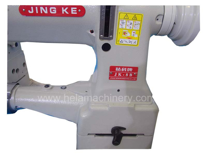 Direct Drive Computer Bag Industrial Sewing Machine with Large Shuttle