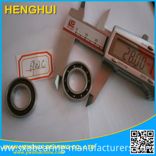 6922 Rubber Seal Deep Groove Ball Bearing