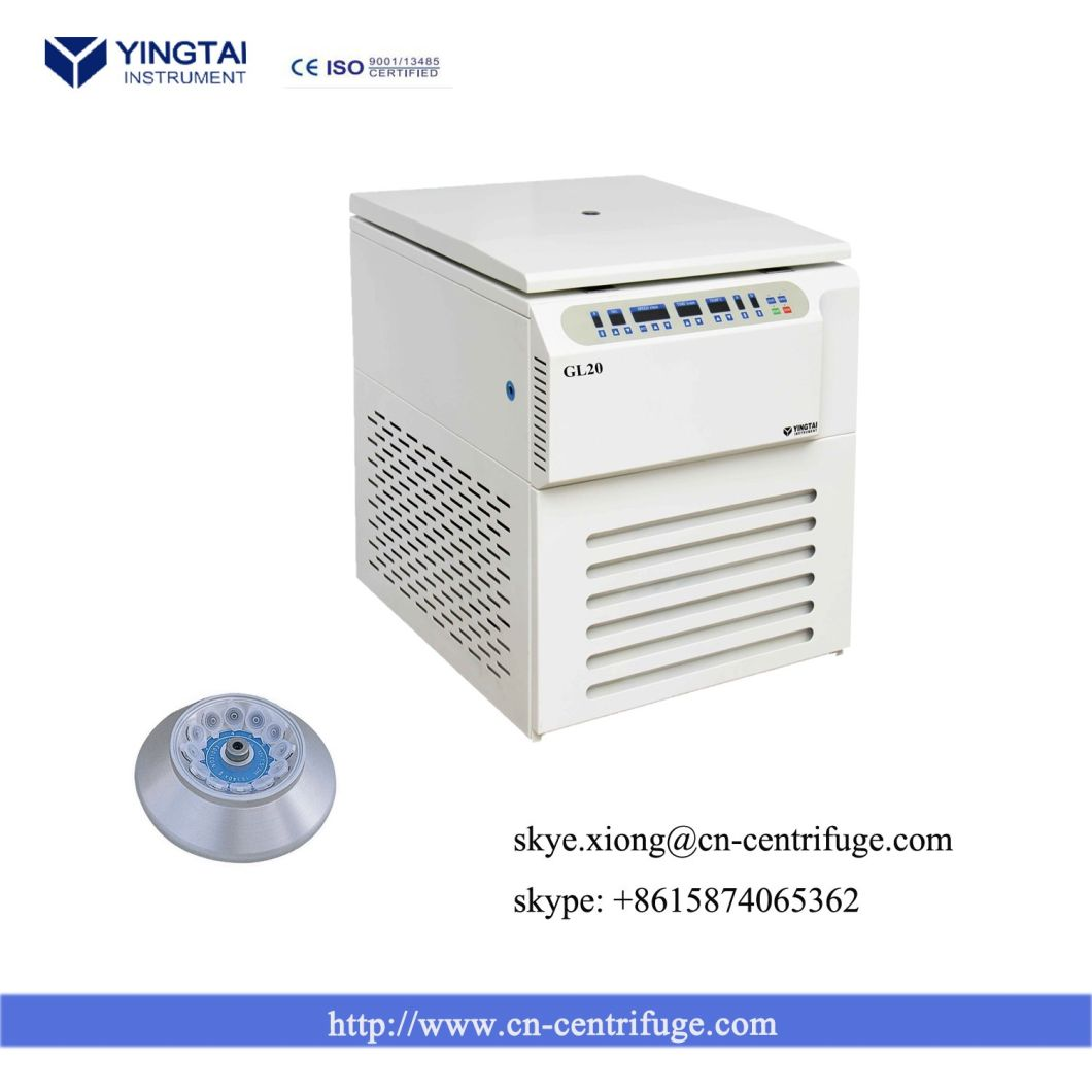 Table Top High Speed Refrigerated Centrifuge Cell Washing Centrifuge