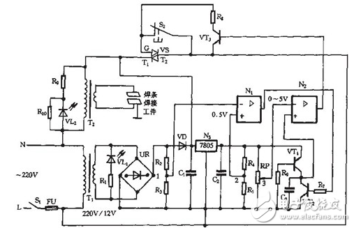 Spot welder control board circuit diagram Daquan (bidirectional thyristor /  transformer)   Spot Welding Electrical Diagram      China Phase Control Thyristor,Diode Module,Thyristor Module,Bridge  Rectifier Manufacturer and Supplier