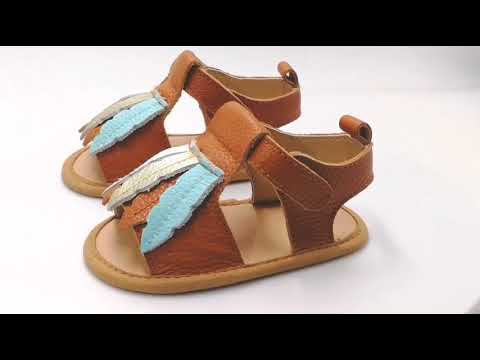 Cheap Summer Baby Shoes Wholesale Baby Sandals Shoes Leather Kids Sandals