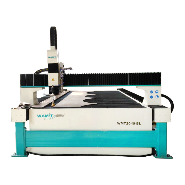 WMT2040-AL waterjet cutting machine 2000*4000mm cutting size with 420mpa pump for cutting rubber