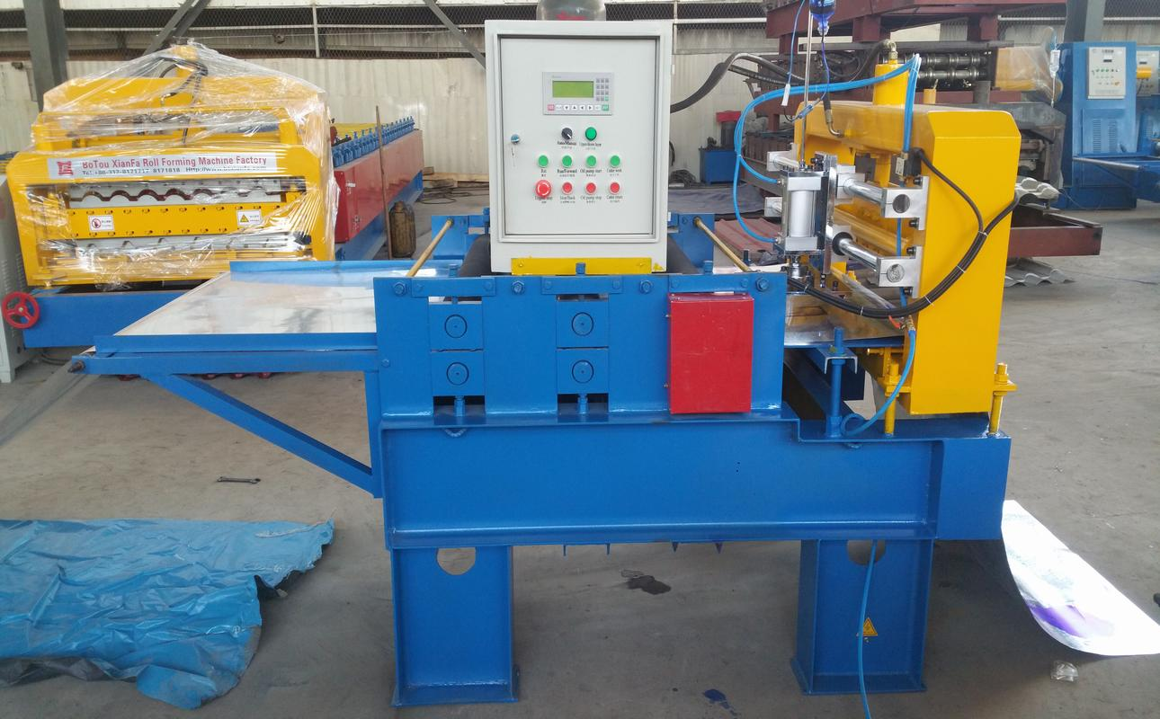 leveling embossing cutting production line
