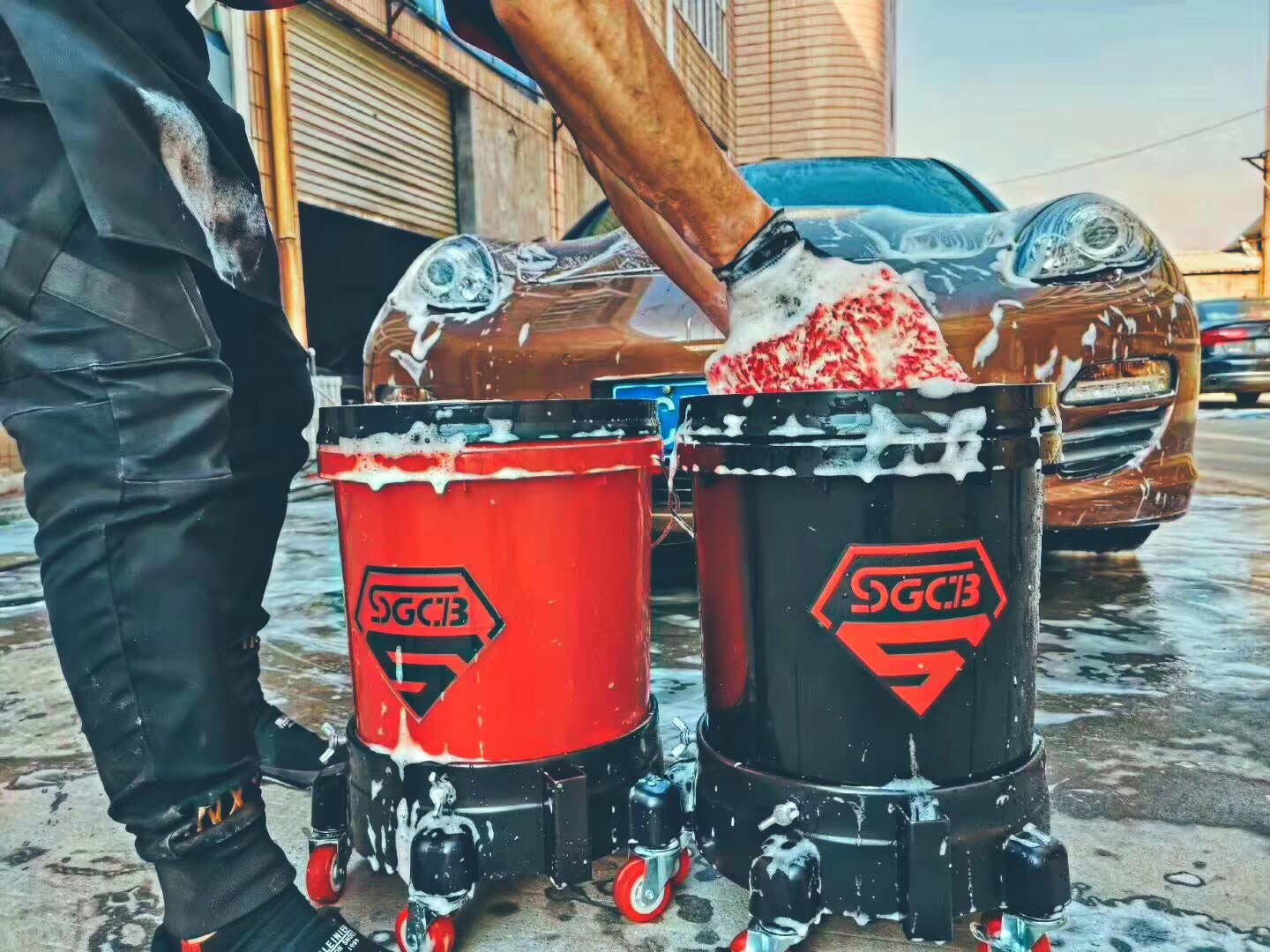 SGCB car wash bucket