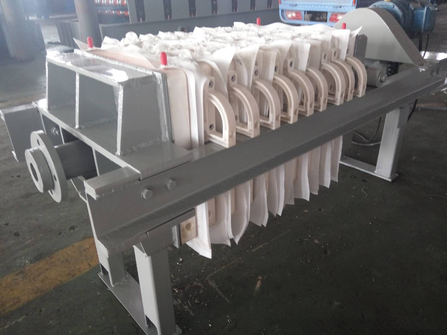 20㎡ Manual Stone Power Filter Press