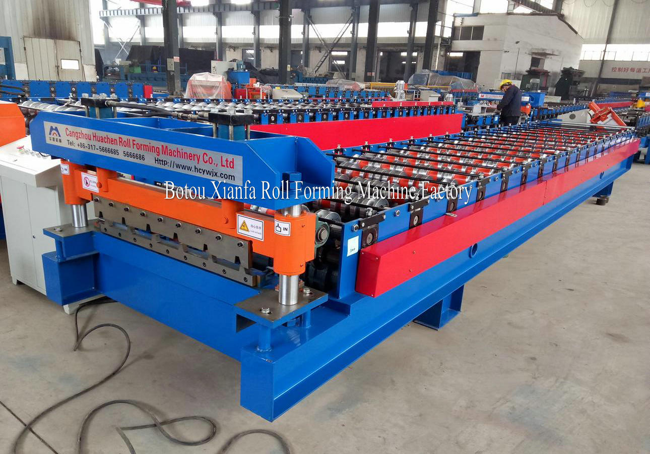 Roof Sheet Metal Forming Machine