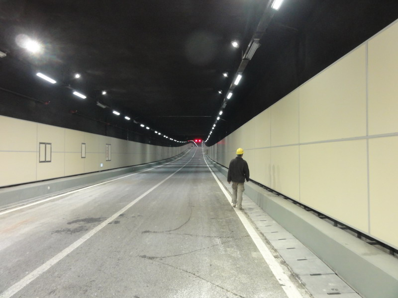 fireproof tunnel wall panel