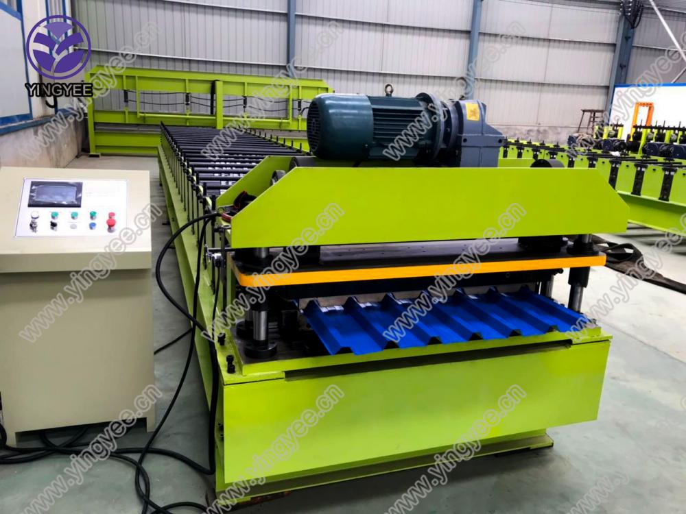 30m/min high speed roof roll forming machine 02