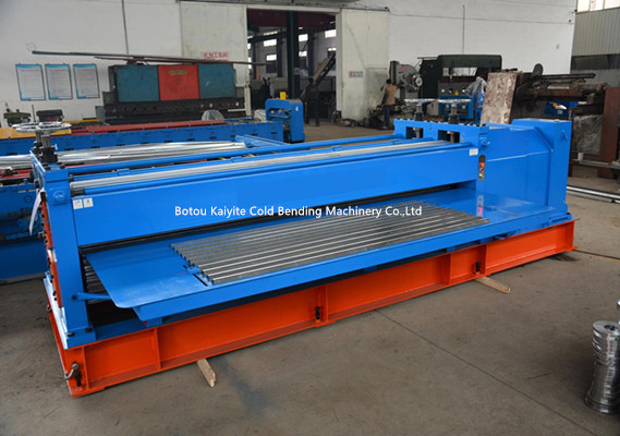 Metal Barrel Type Corrugated Sheet Forming Machine