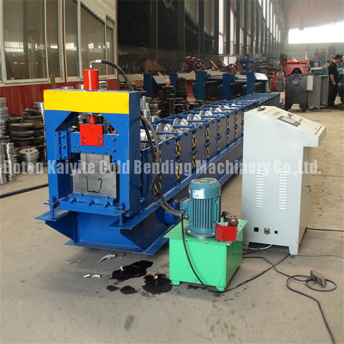 Roofing Sheet K Type Steel Rain Gutter Roll Forming Machine