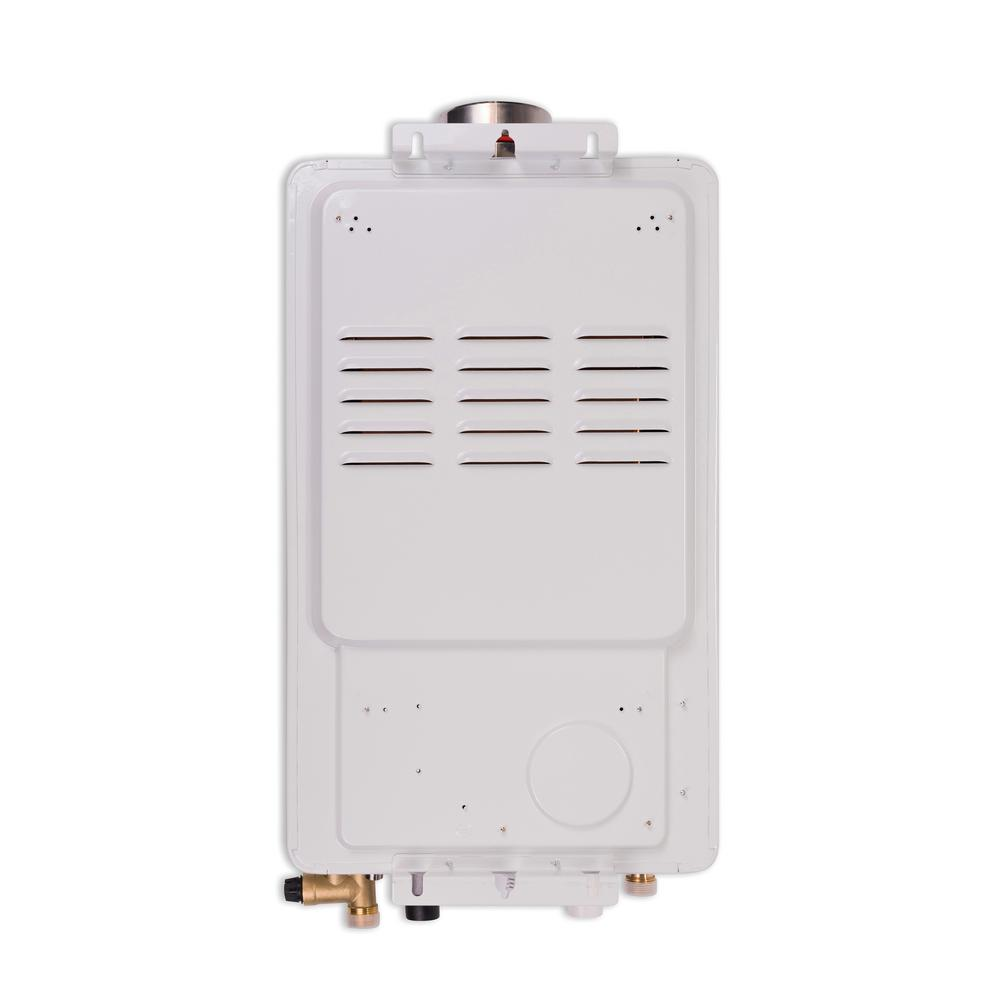 Super High Efficiency Plus 10 GPM Residential 180,000 BTU/h 58.3 kWh Propane Exterior Tankless Water Heater