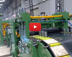 cut to length machine for Russian customer
