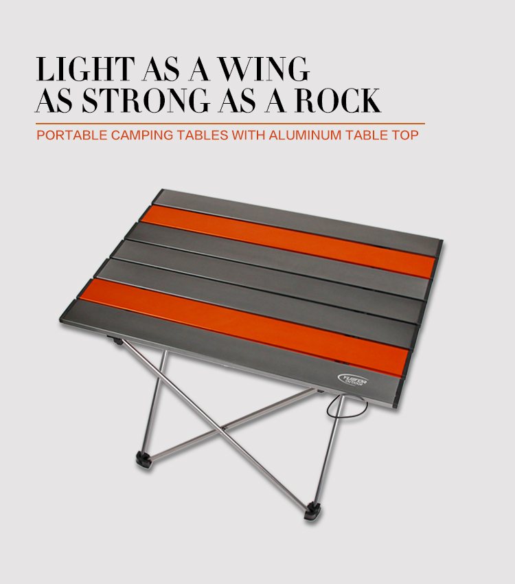 How to roll up camping table YYZ04