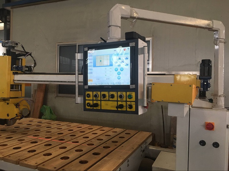 TITAN 3500 cnc 5 axis marble granite profiling chamfering cutting drilling and milling machine