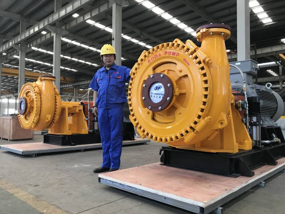 Gravel Dredging Pumps