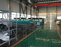 WAMIT FACTORY VIEW OF WATERJET CUTTING MACHINE